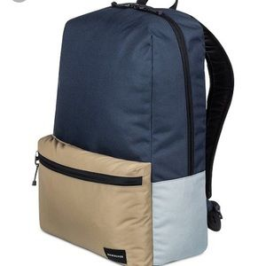 Quicksilver night track color blocked backpack